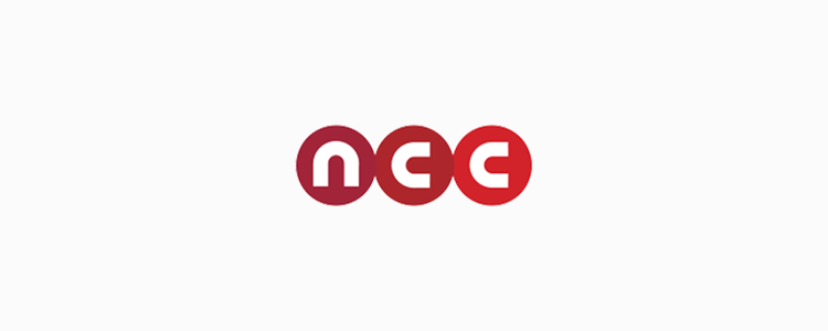 NCC Logo on White Background