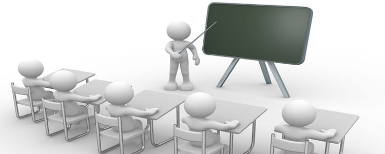 Teaching Students from a Blackboard