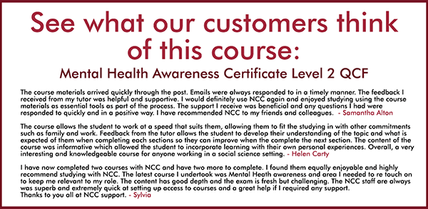 Mental Health Awareness Certificate Level 2