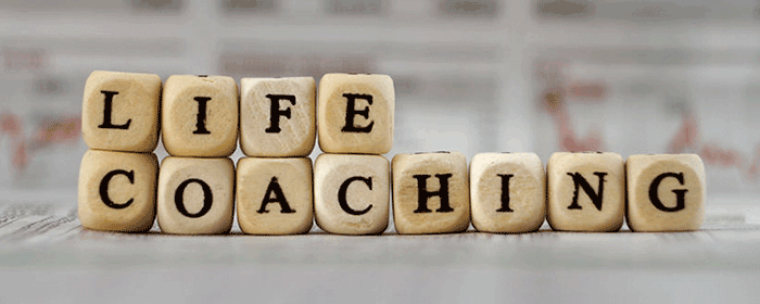 Life Coaching printed onto dice
