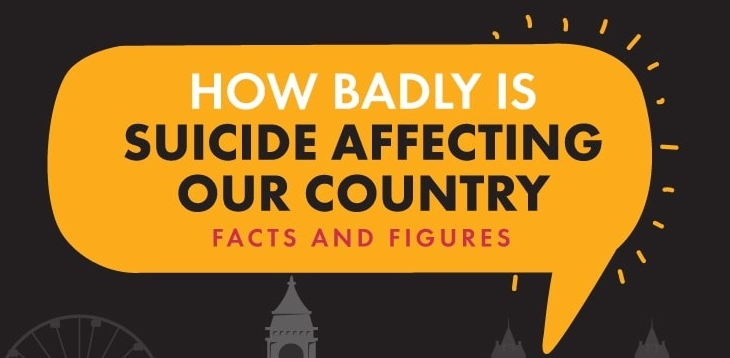 How Badly Is Suicide Affecting This Country Infographic